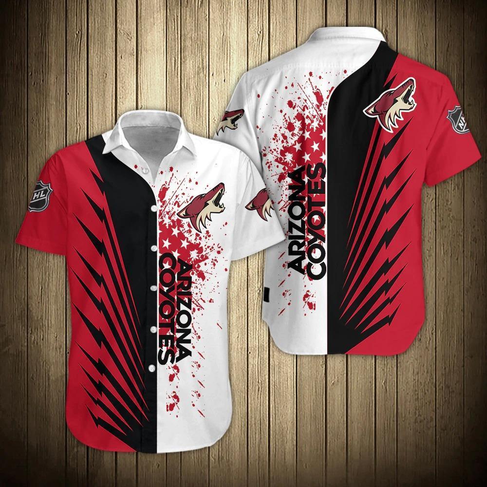 NHL Arizona Coyotes Limited Edition Hawaiian Shirt