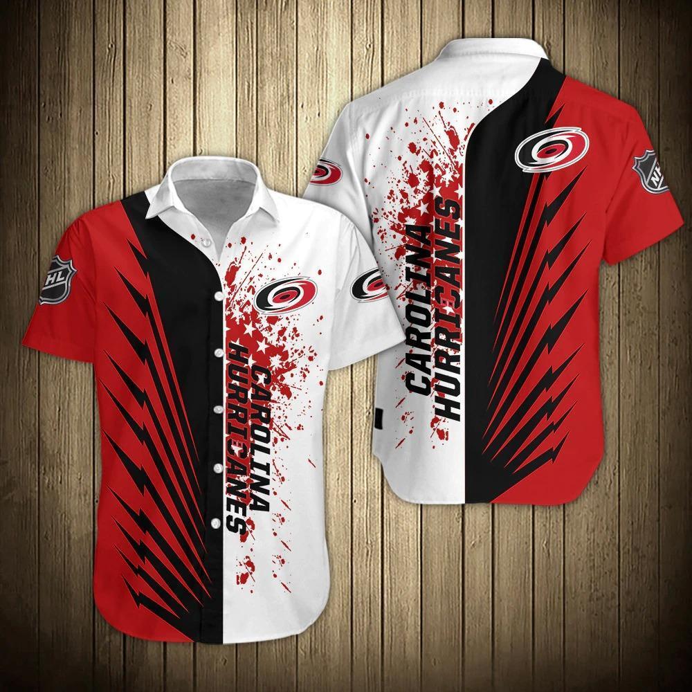 NHL Carolina Hurricanes Hawaiian Summer Shirt