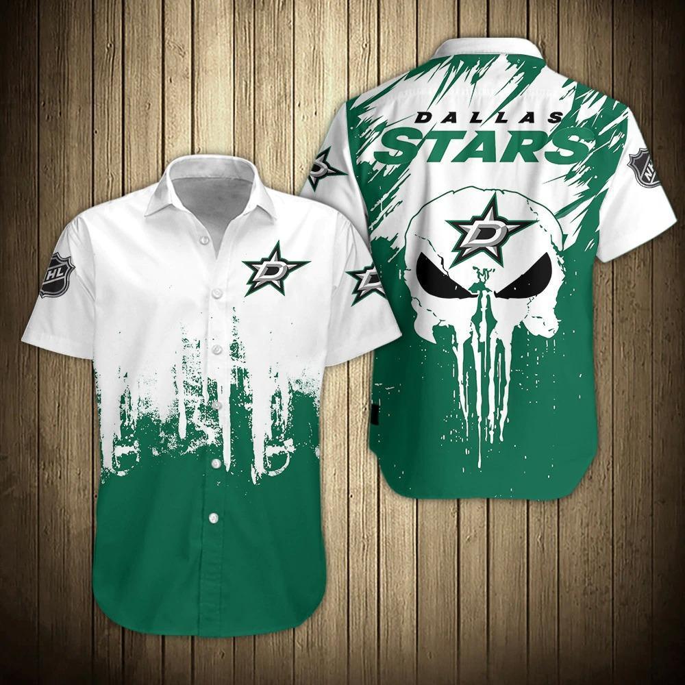 Dallas Stars Shirts Hawaiian Short Sleeve
