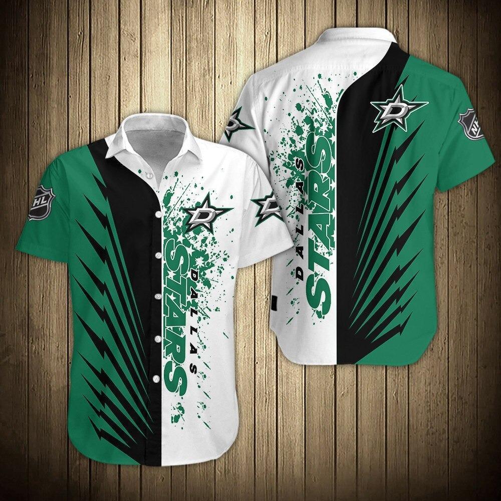 NHL Dallas Stars Shirts Limited Short Sleeve Hawaiian Shirt