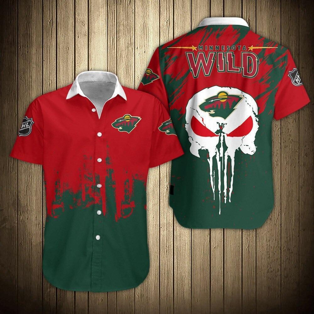 NHL Minnesota Wild Limited Hawaiian Summer Shirt