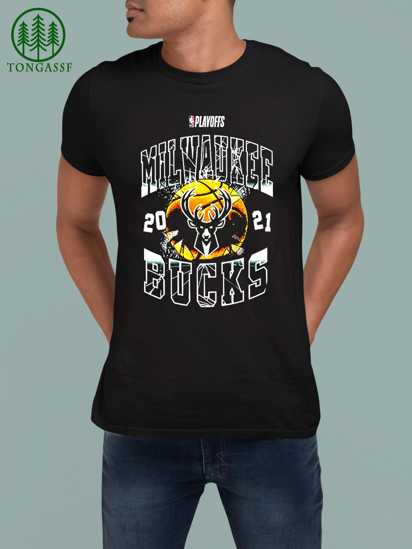 Milwaukee Bucks 2021 basketball playoffs eastern conference finals t shirt