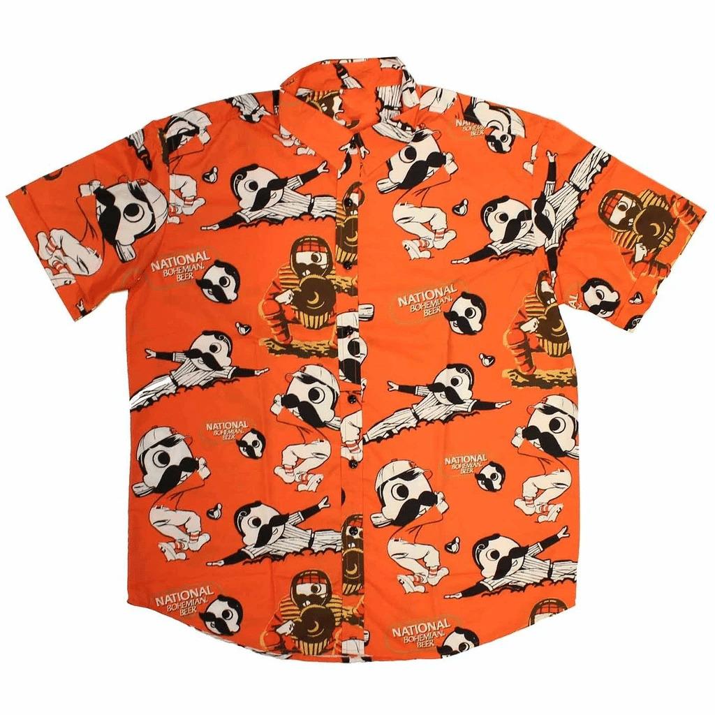 NFL MLB Hawaiian shirt collection
