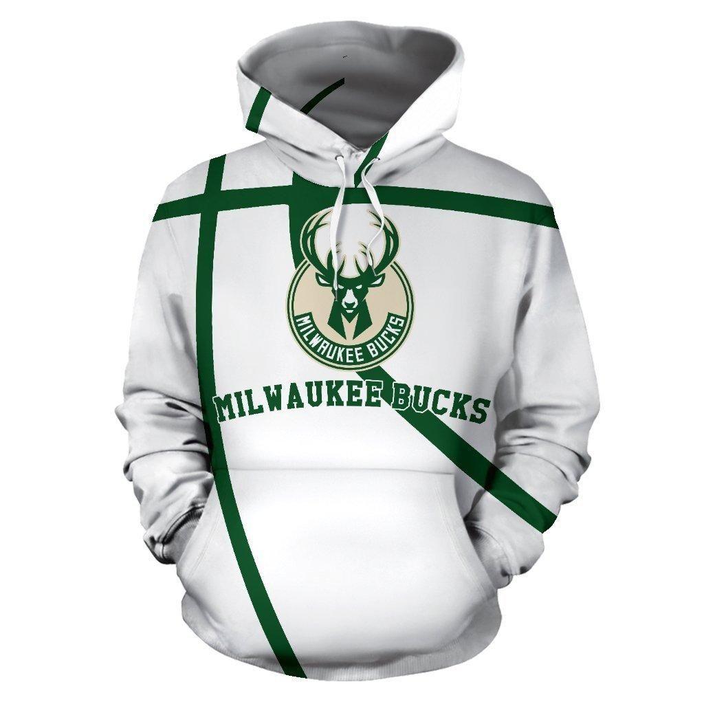 Nba Milwaukee Bucks Champion 3d Hoodie Style 04