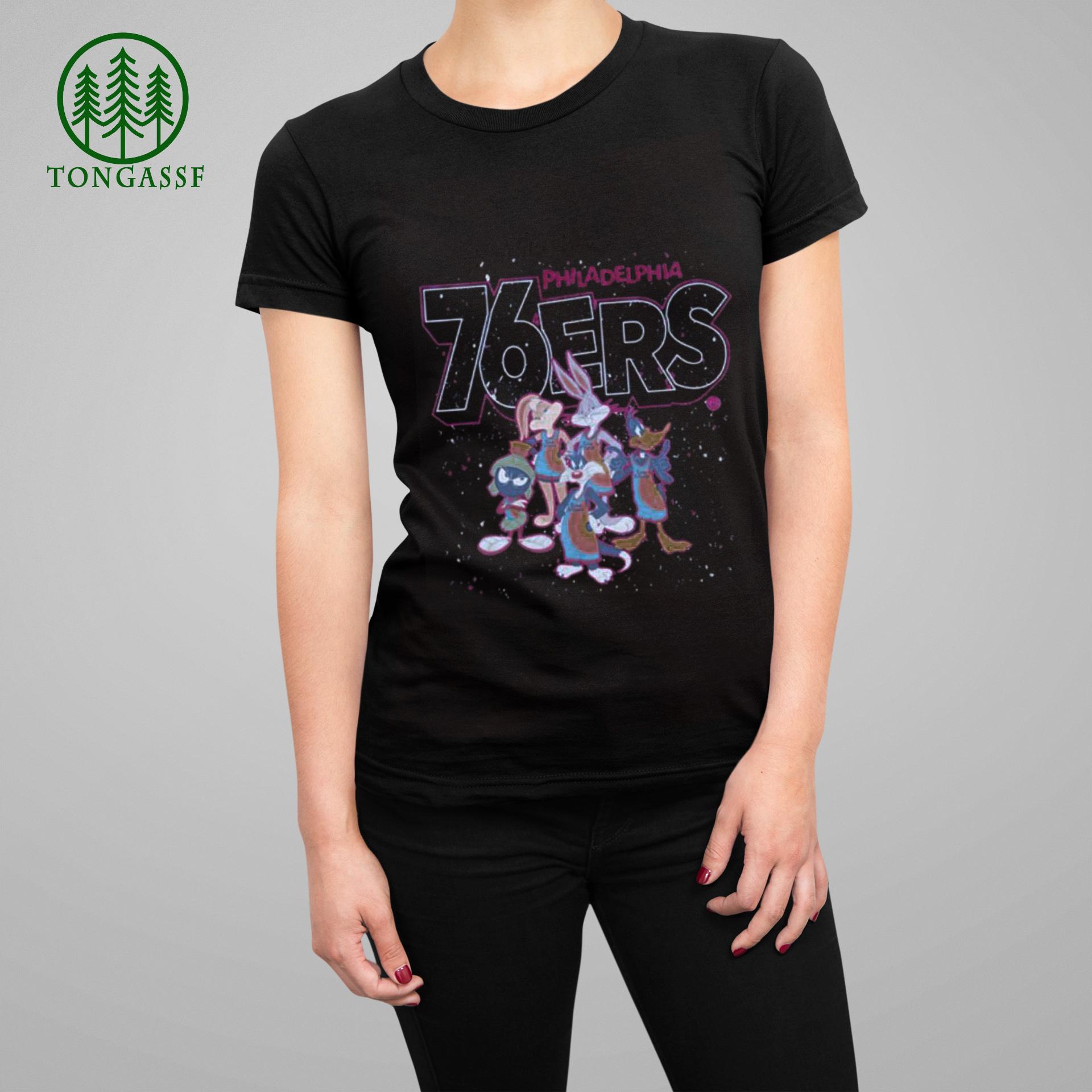 philadelphia 76ers space jam characters Shirt