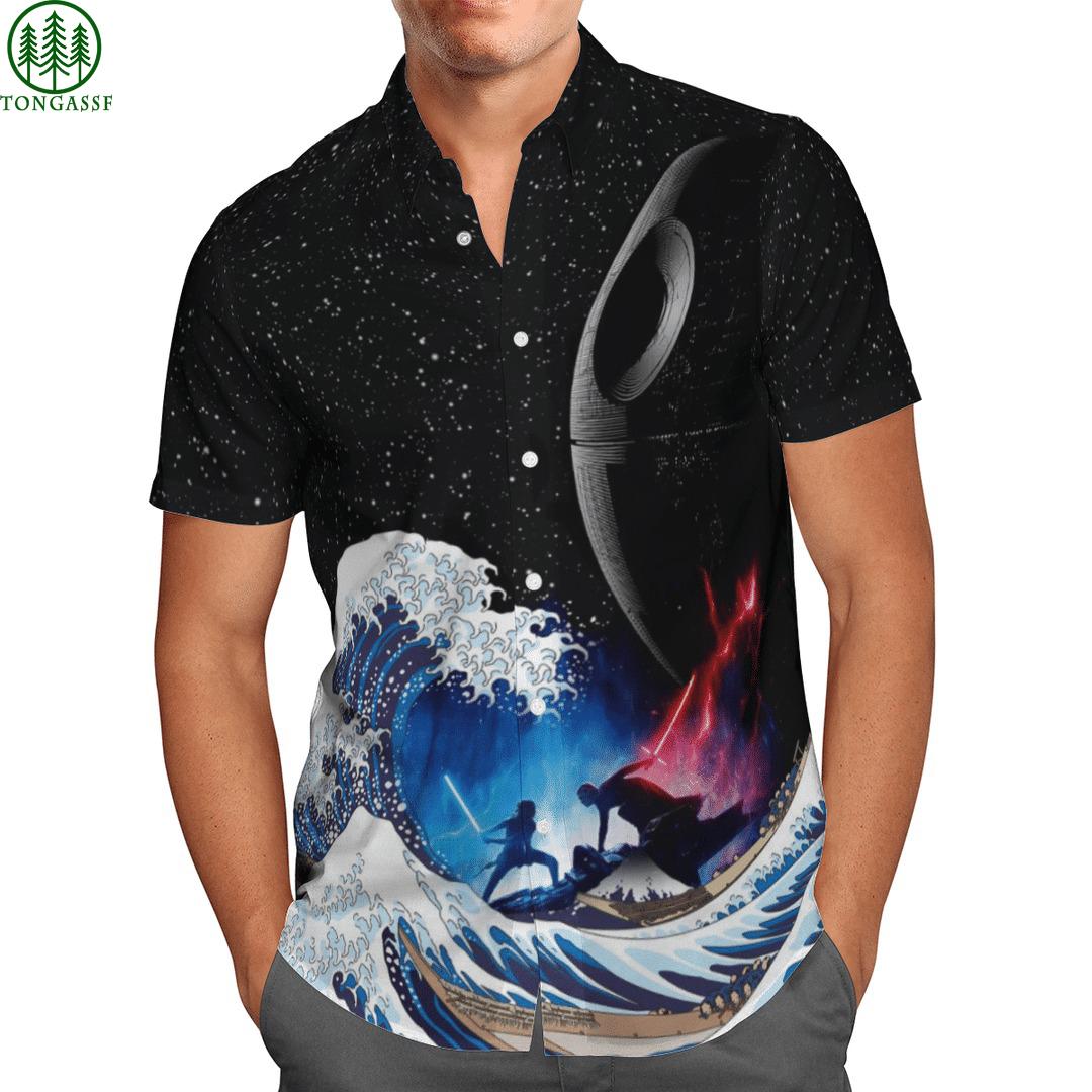 Star Wars Battle Waves Hawaiian Shirt