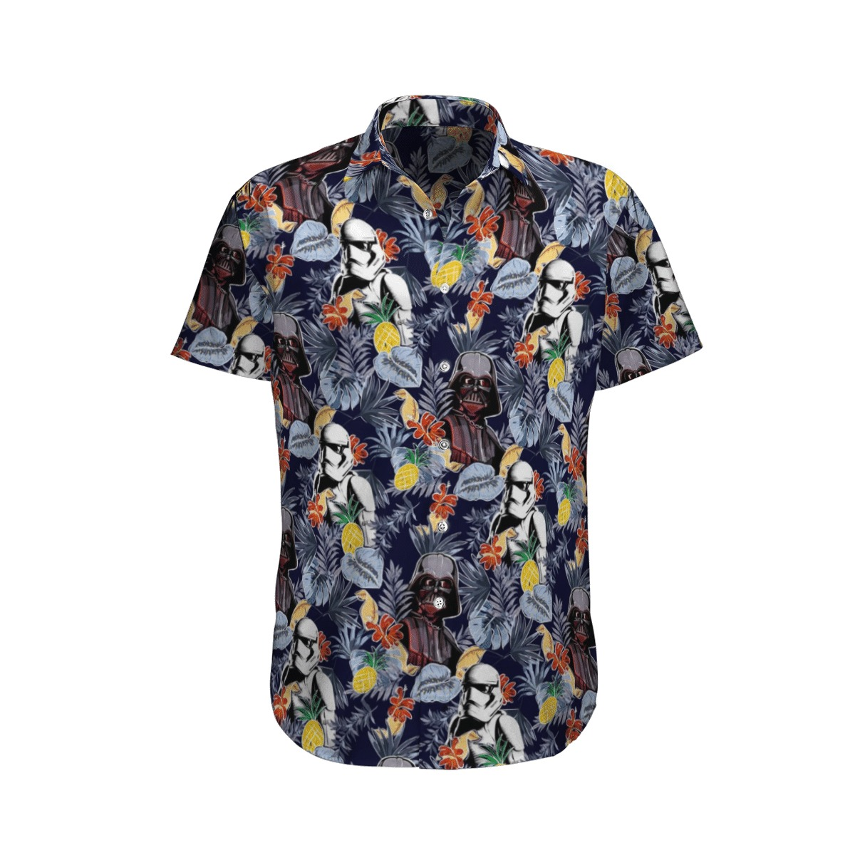 Star wars hawaiian shirt in Summer