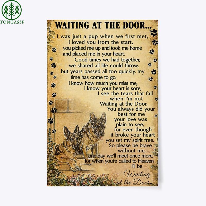 The Door beloved Dogs wait Poster