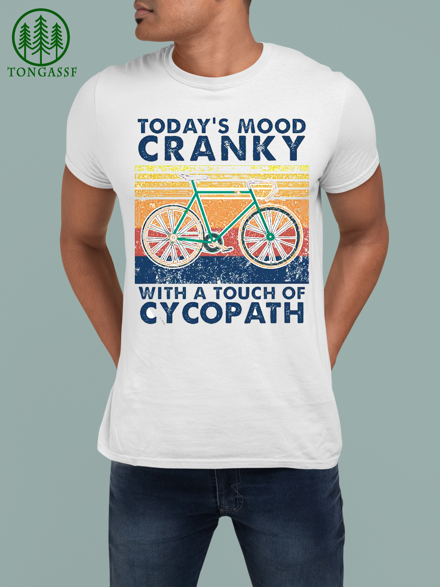 today mood cranky with a touch of cycopath vintage Shirt