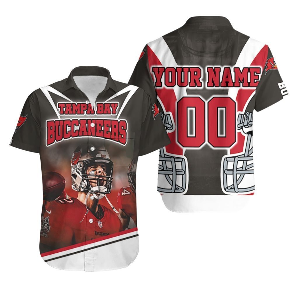 Tom Brady 12 Nfc South Division Tampa Bay Buccaneers Super Bowl 2021 Personalized Hawaiian Shirt