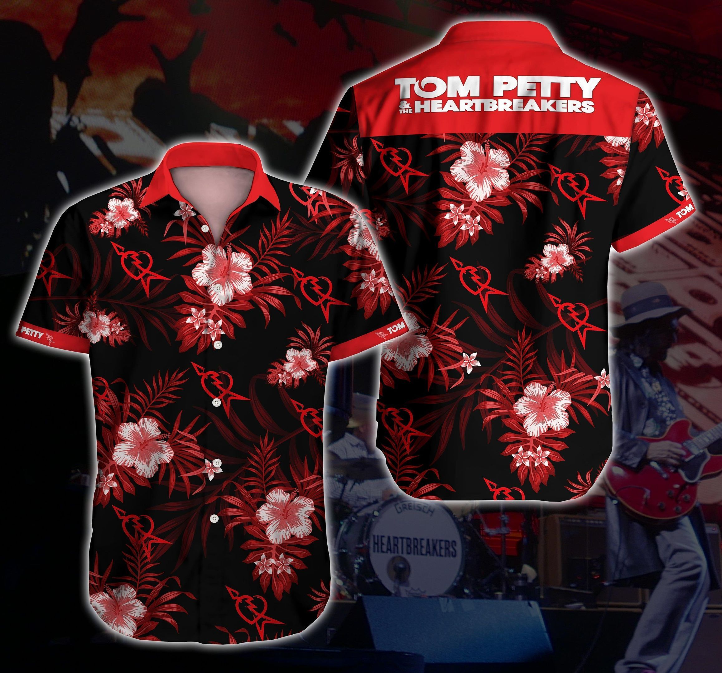 Tom Petty And The Heartbreakers Hawaii Shirt