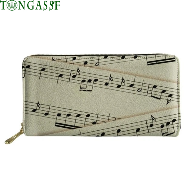 Musical Notes Colorful Wallet