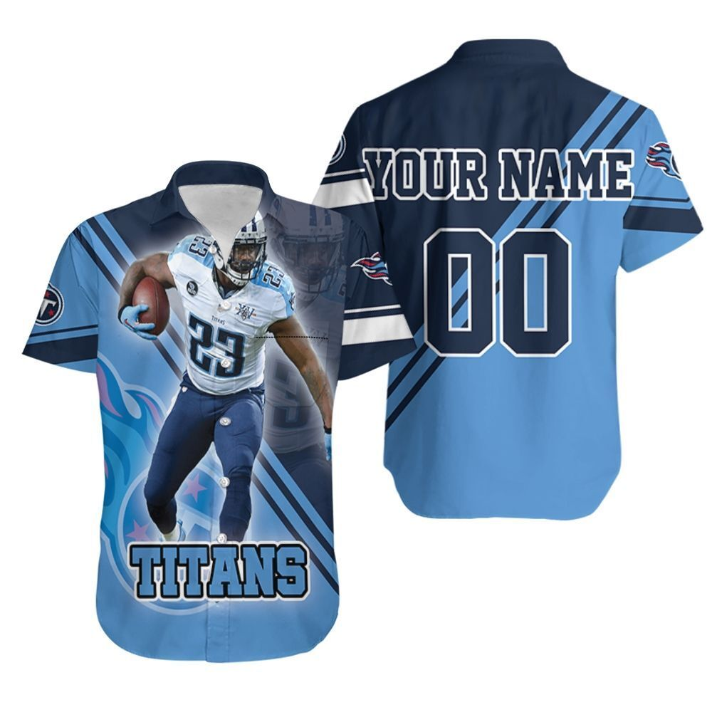 Tye Smith 23 Tennessee Titans Afc Division South Super Bowl 2021 Personalized Hawaiian Shirt