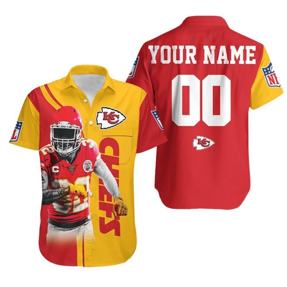 Tyrann Mathieu 30 Kansas City Chiefs Afc West Champions Super Bowl 2021 Personalized Hawaiian Shirt