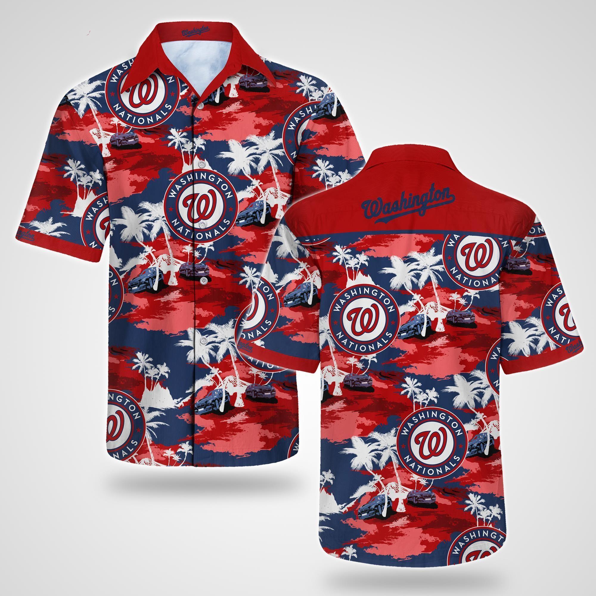 Washington Nationals Tommy Bahama Hawaiian Shirt