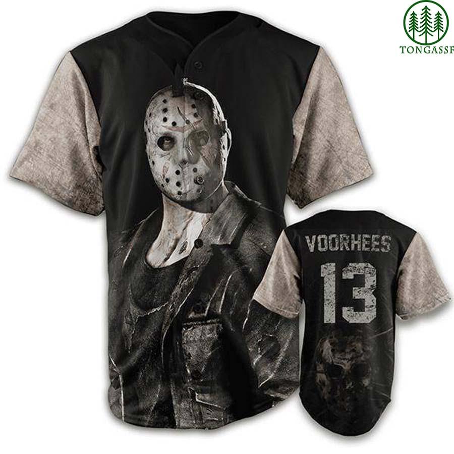 JASON VOORHEES HALLOWEEN baseball jersey shirt