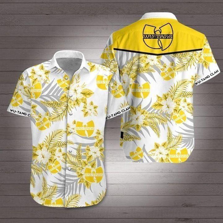 Wu-tang Clan Hawaiian Shirt Summer