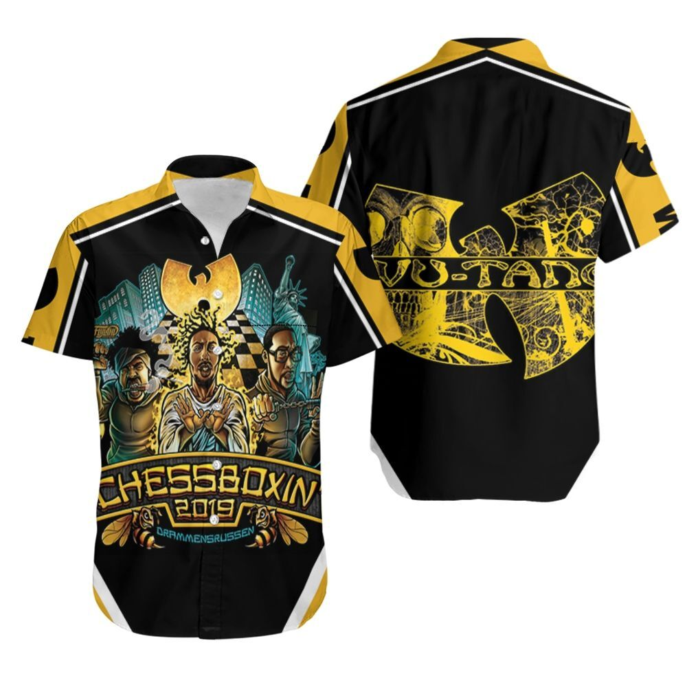 Wu Tang Clan Da Mystery Of Chessboxin Legend Hip Hop Hawaiian Shirt