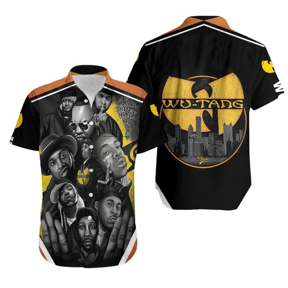 Wu Tang Clan Legend Hip Hop Rapper Hawaiian Shirt