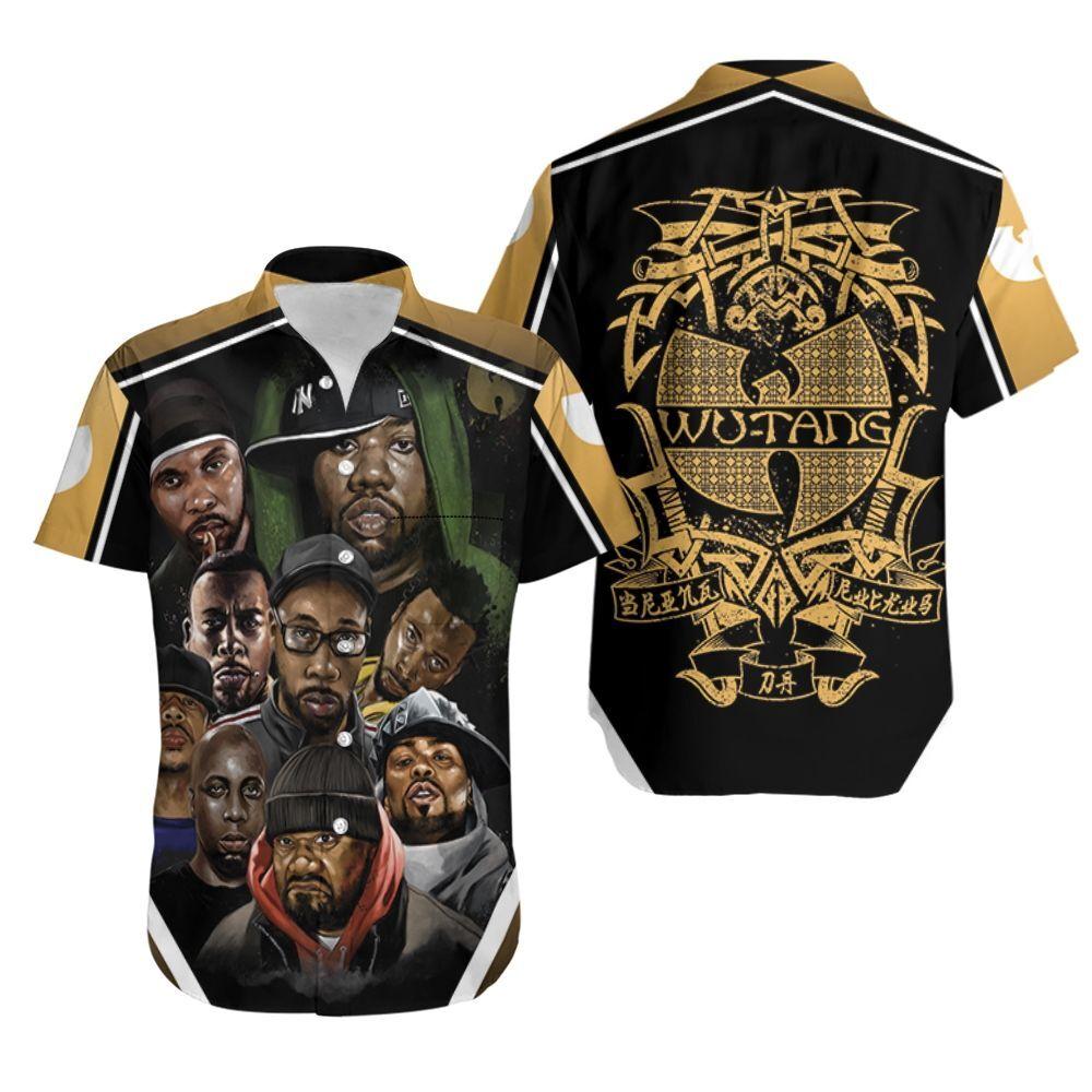 Wu Tang Clan The Rza The Gza And The Method Man Legend Hip Hop Rapper Hawaiian Shirt