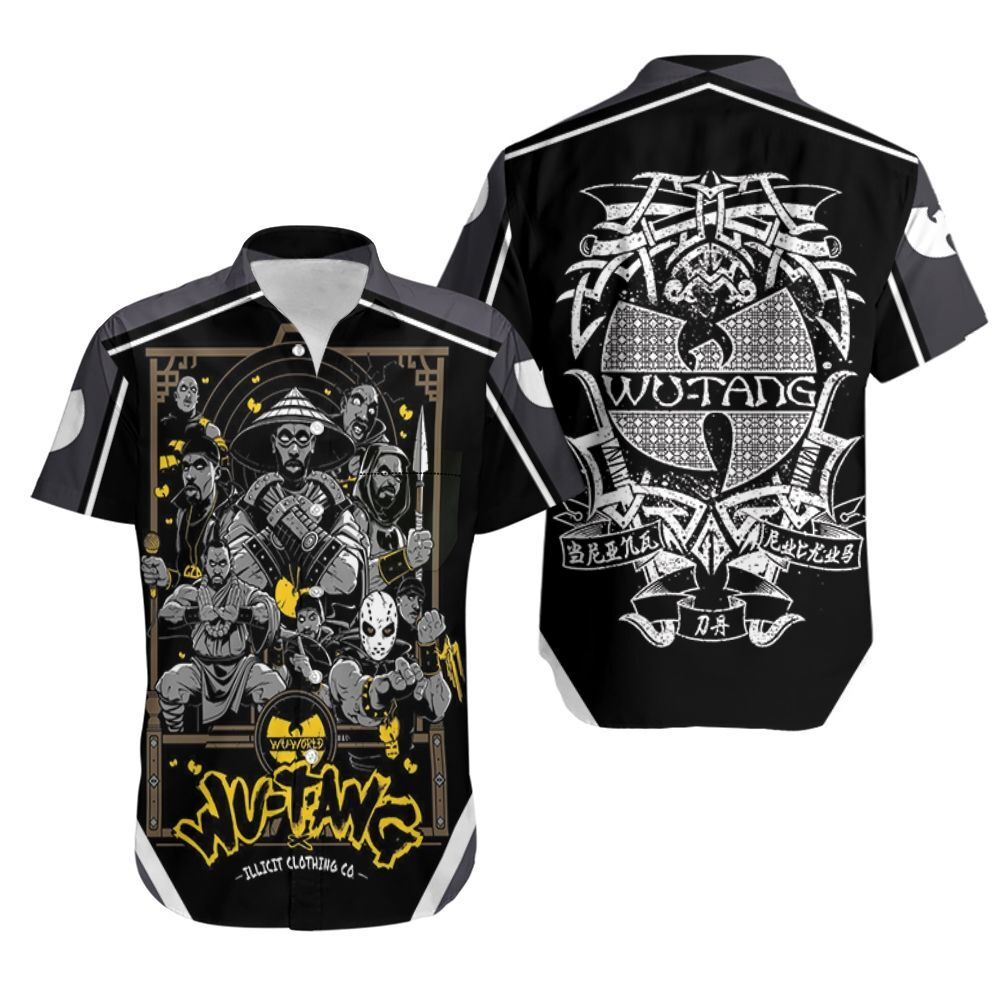 Wutang Clan Illicit Clothing Co Hip Hop Legend Hawaiian Shirt