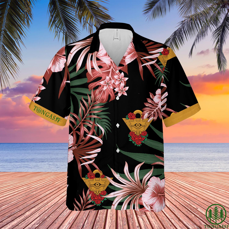 YugiOh Yugi Millennium Puzzle Hawaiian Shirt Summer Shirt