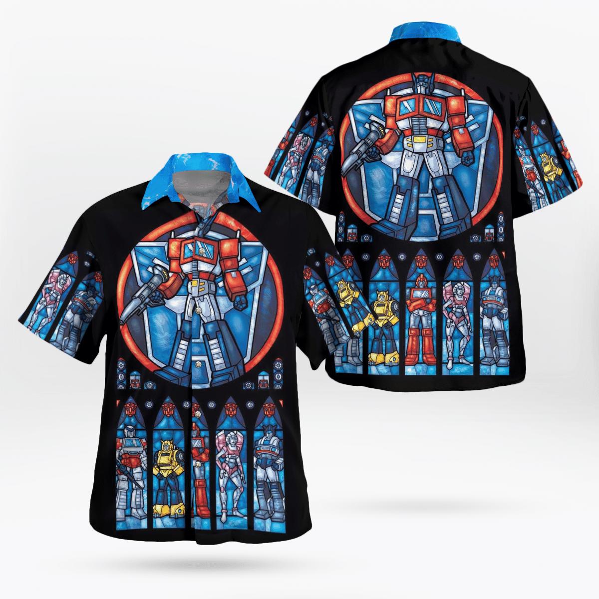 Transformers Hawaiian Shirts Summer Shirt