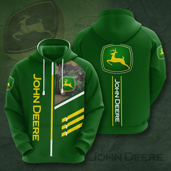John Deere Limited 3D Full Printed Hoodie