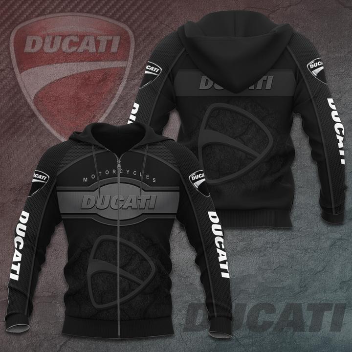 Ducati motorcycles 3D T-Shirt hoodie sweatshirt