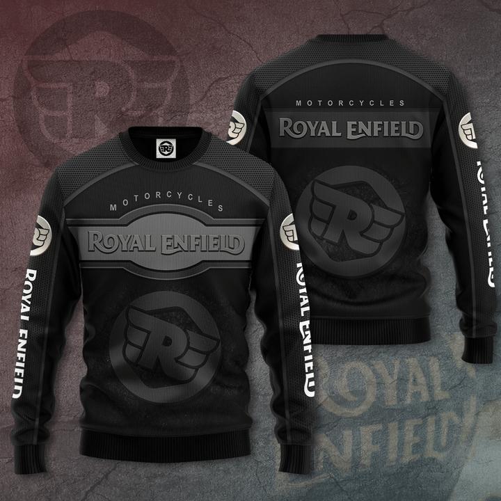 Royal Enfield motorcycles 3D T-Shirt hoodie sweatshirt