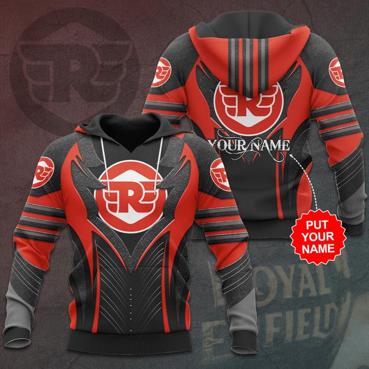 Personalized Royal Enfield Premium 3D Full Printed hoodie