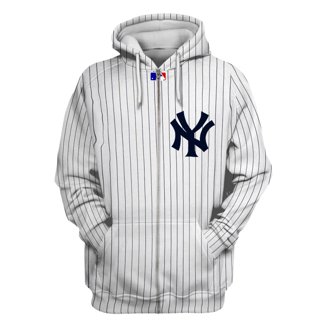 Personalized MLB New York Yankees 3D hoodie and sweatshirt