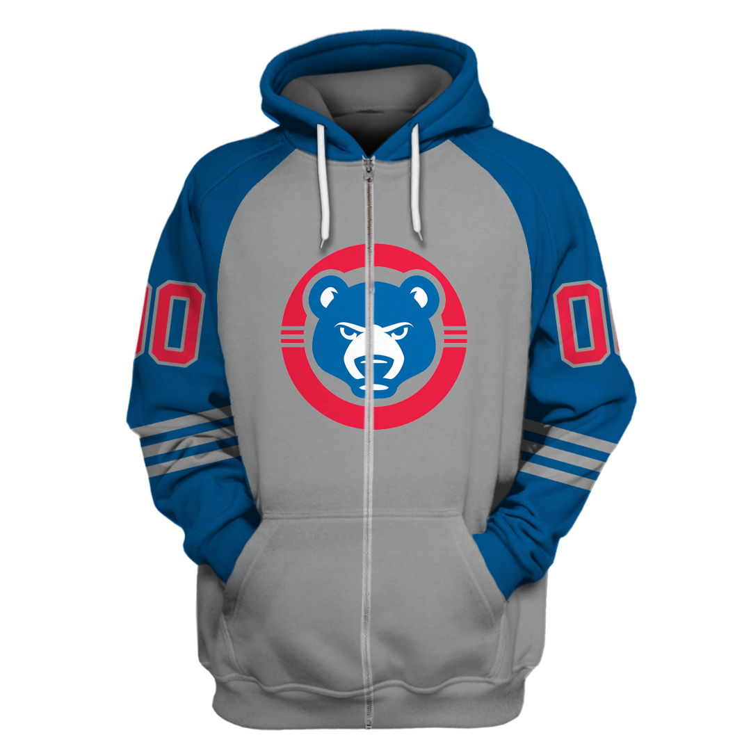 Personalized Chicago Cubs Branded 3D hoodie and sweatshirt