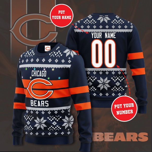 Personalized cleveland browns Premium Christmas Sweater