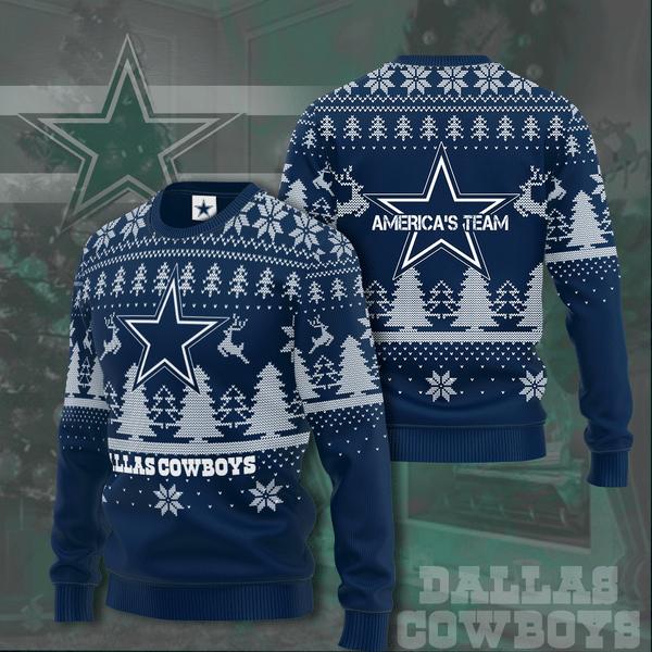 Dallas Cowboys American Team Christmas Sweater