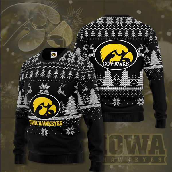 Iowa Hawkeyes Christmas Sweater
