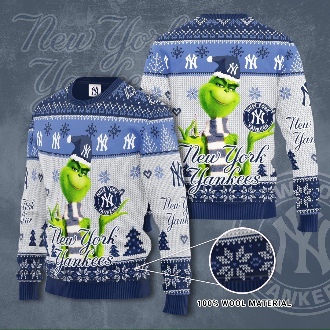 MLB New York Yankees Grinch Sweater
