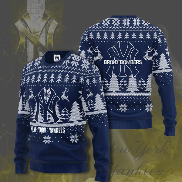New York Yankees Bronx Bombers Christmas Sweater