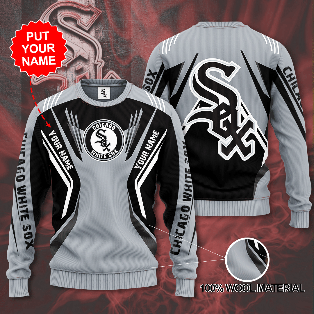 Personalized Chicago white sox MLB Sweater