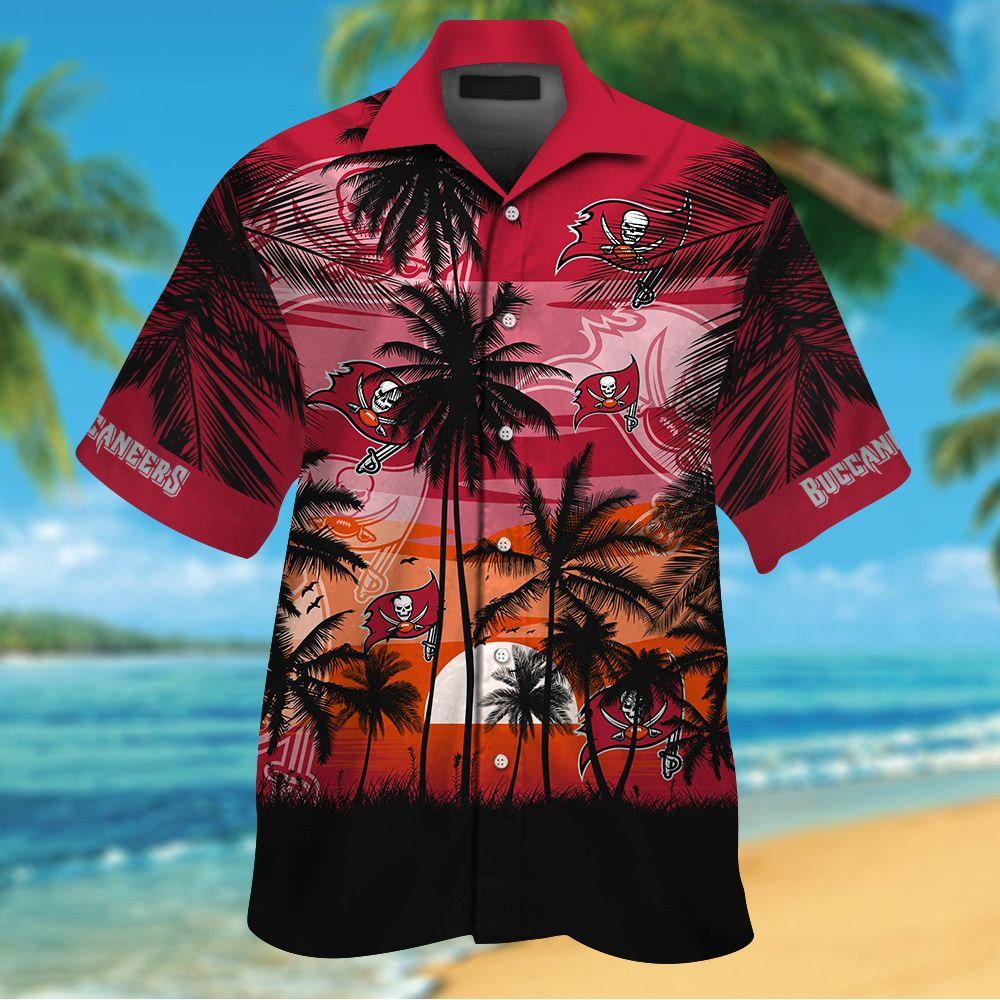 NFL Tampa Bay Buccaneers Tropical Hawaiian Shirt