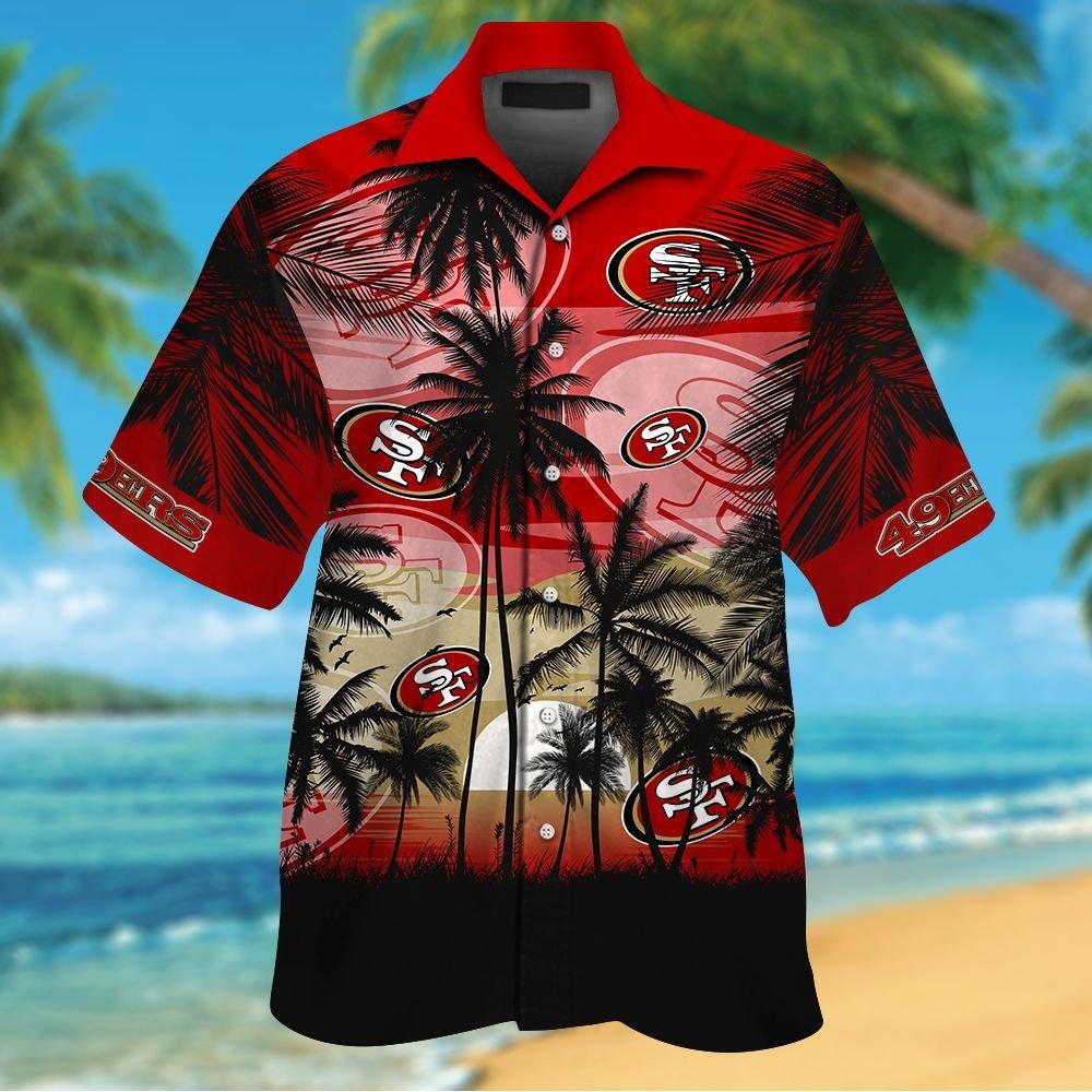 NFL San Francisco 49ers Tropical Hawaiian Shirt