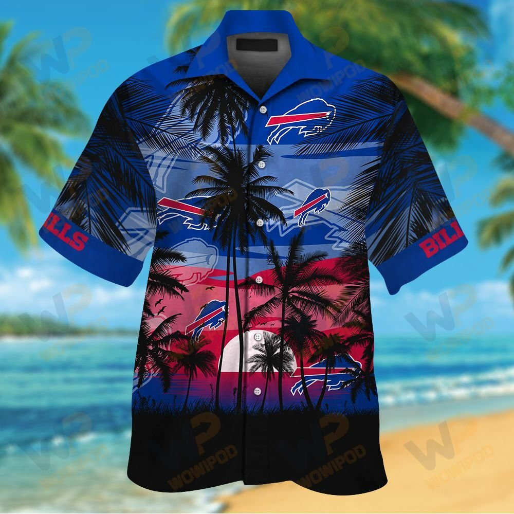 NFL Buffalo Bills Tropical Hawaiian Shirt