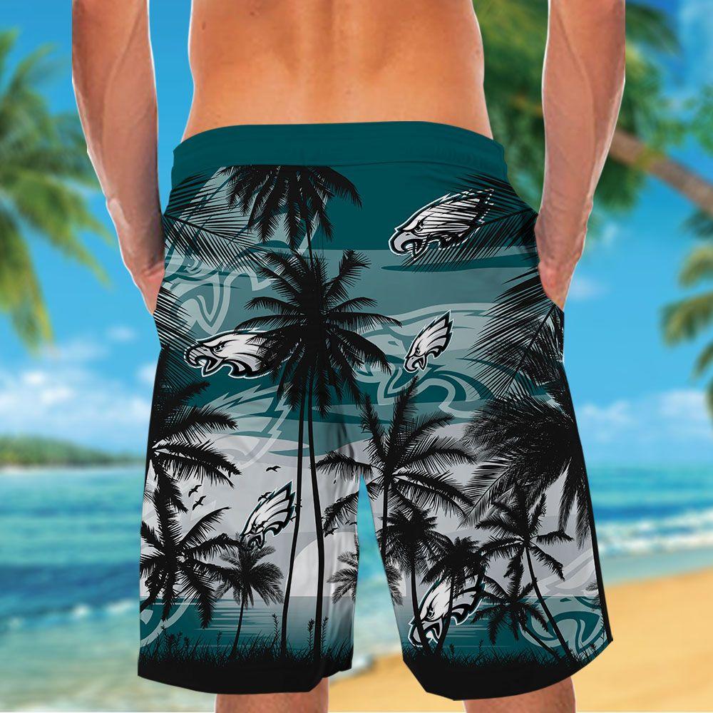 NFL Philadelphia Eagles Tropical Hawaiian Shirt