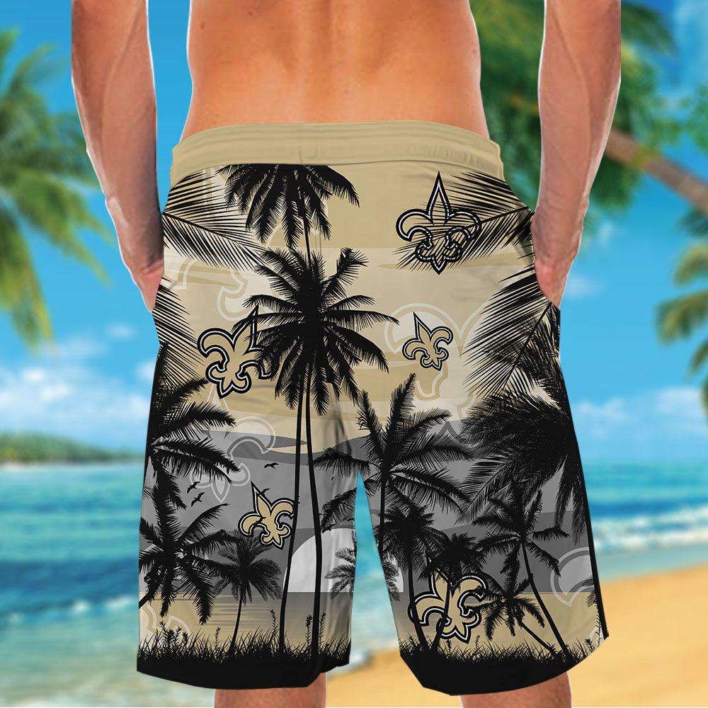 NFL New Orleans Saints Tropical Hawaiian Shirt