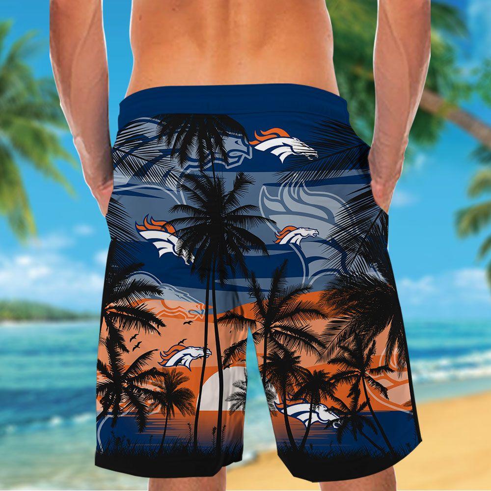 NFL Denver Broncos Tropical Hawaiian Shirt