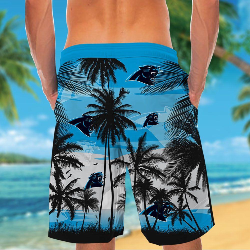 NFL Carolina Panthers Tropical Hawaiian Shirt