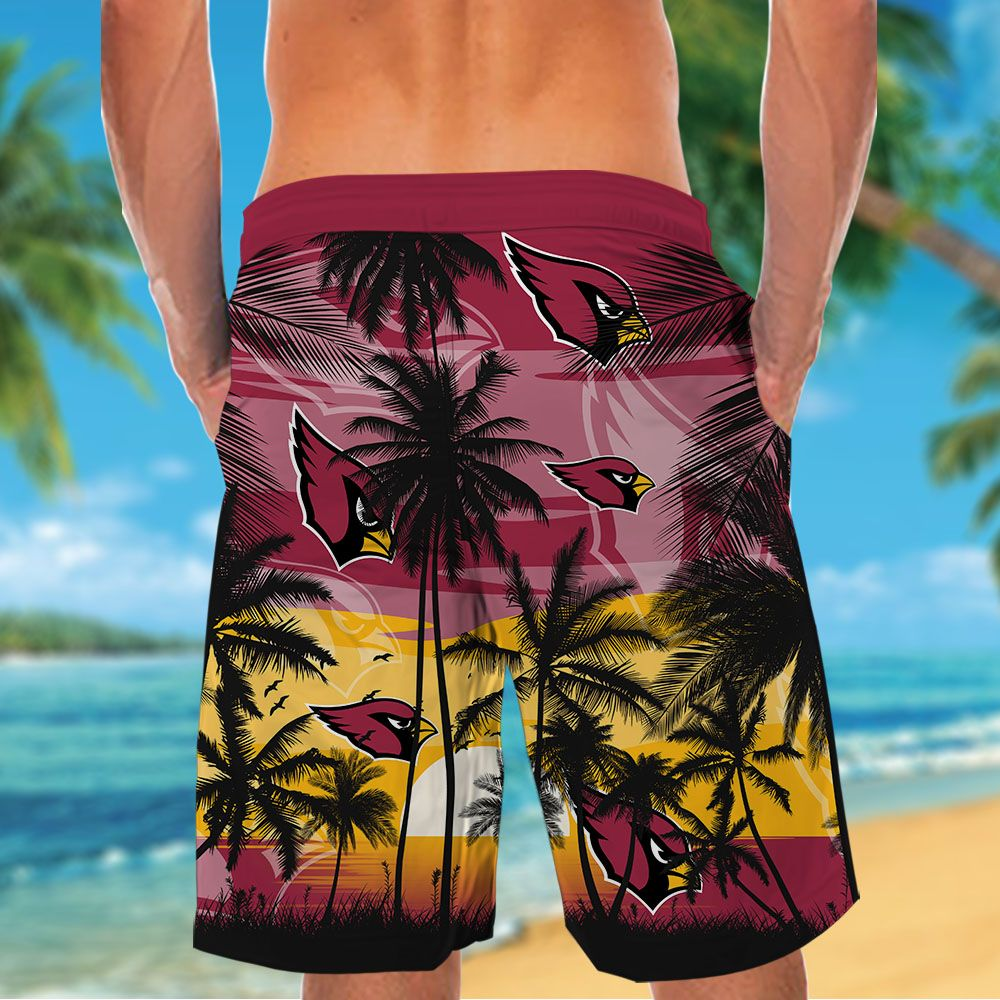 NFL Arizona Cardinals Tropical Hawaiian Shirt