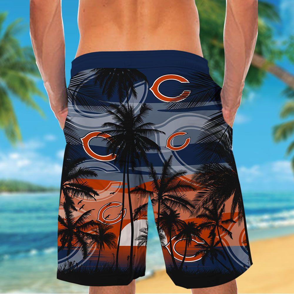 NFL Chicago Bears Tropical Hawaiian Shirt