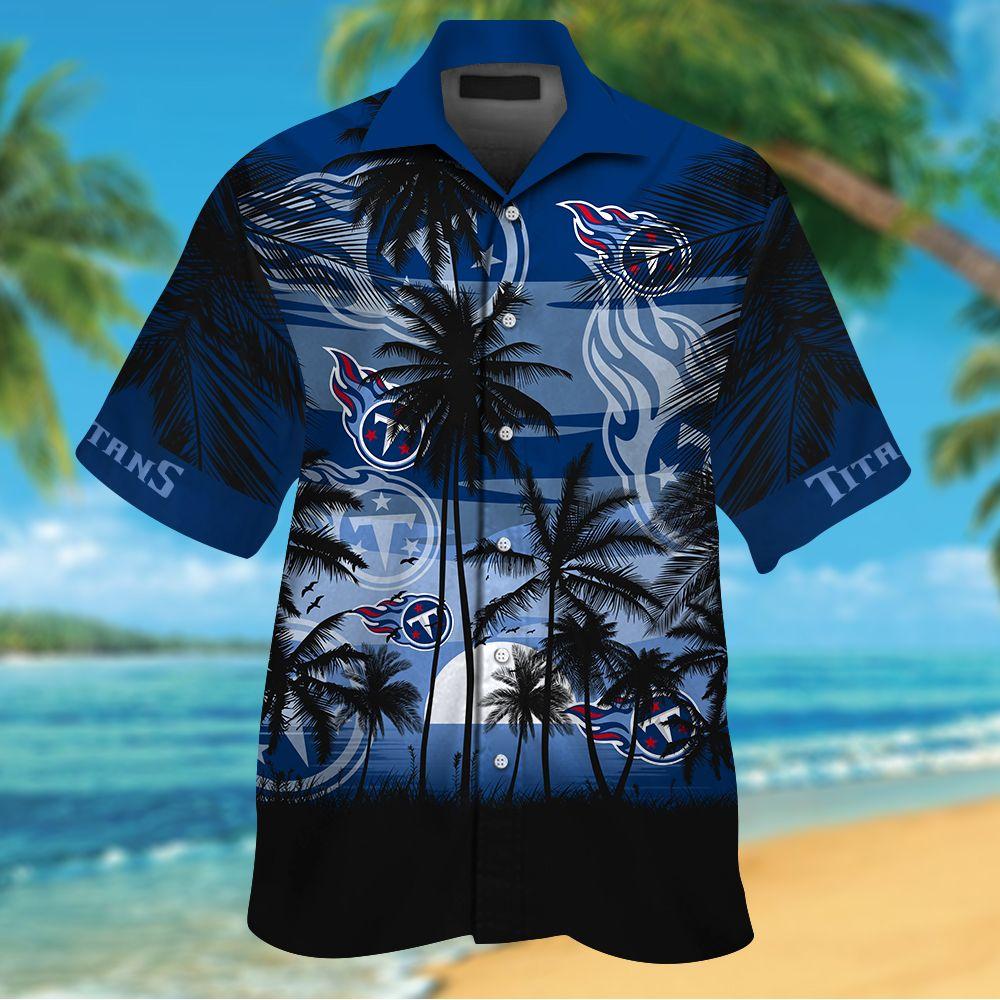 NFL Tennessee Titans Tropical Hawaiian Shirt