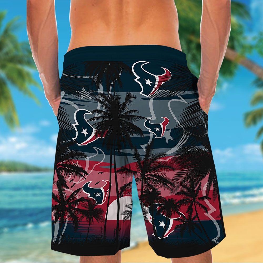 NFL Houston Texans Tropical Hawaiian Shirt